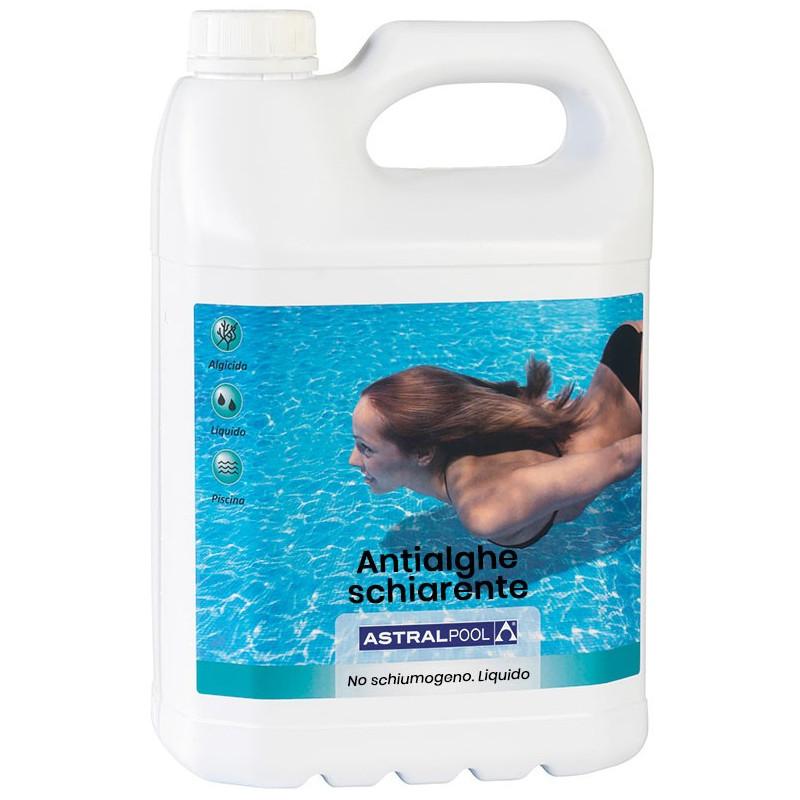 Antialghe Schiarente Piscina Astralpool Liquido 5 Lt