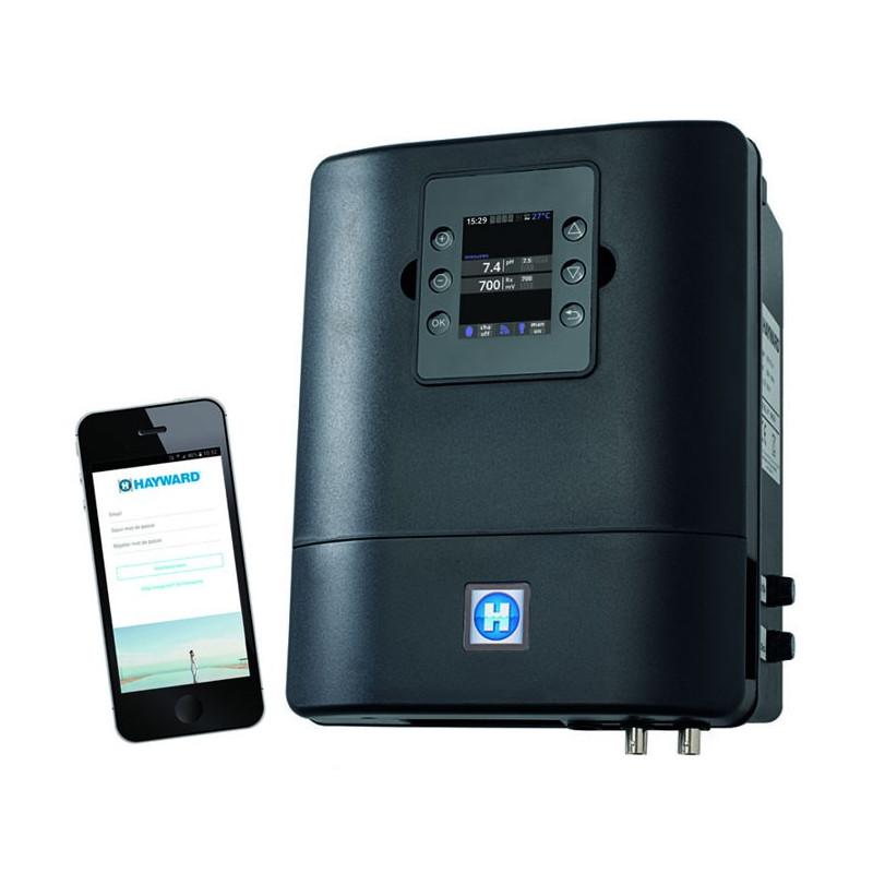Control Station Wi-Fi Hayward con dosaggio pH e Cloro