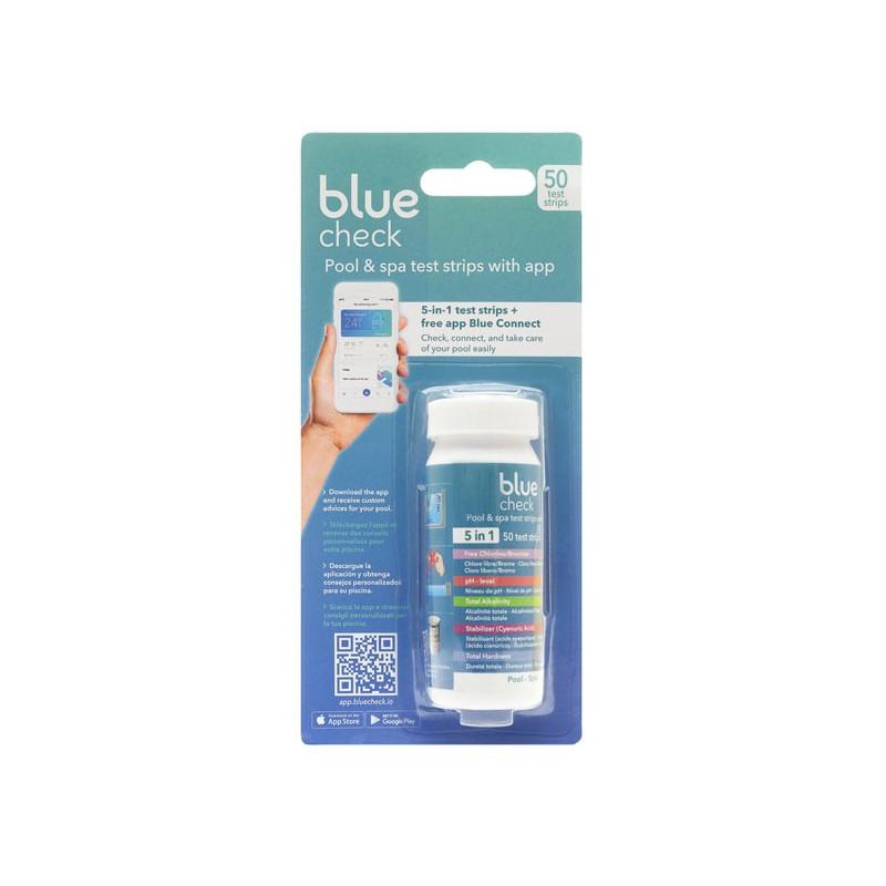 Analizzatore a Strisce per Piscina Blue Check con APP