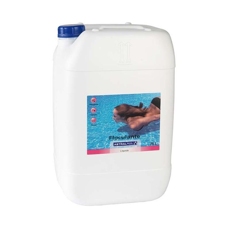 Flucculante Schiarente Piscina Astralpool Liquido 25 lt