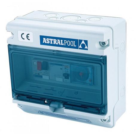 Quadro Elettrico Protezione Pompa Piscina e Controllo Fari - Astralpool