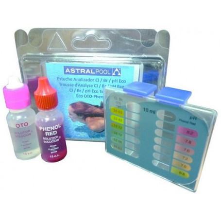 Kit Analisi Eco Cloro/Bromo e pH