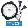 Kit Coperchio Trasparente per filtri a sabbia Aqua da 22-35 mc/h