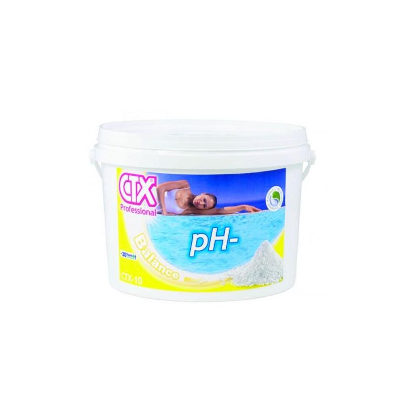 Riduttore ph piscina granulare ctx 10 da 25 kg pronto - Misuratore ph piscina ...