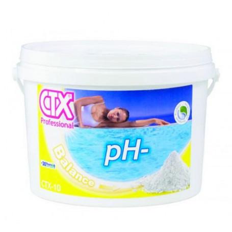 Riduttore pH- Minor Piscina CTX-10 Granulare 25Kg (SACCO)