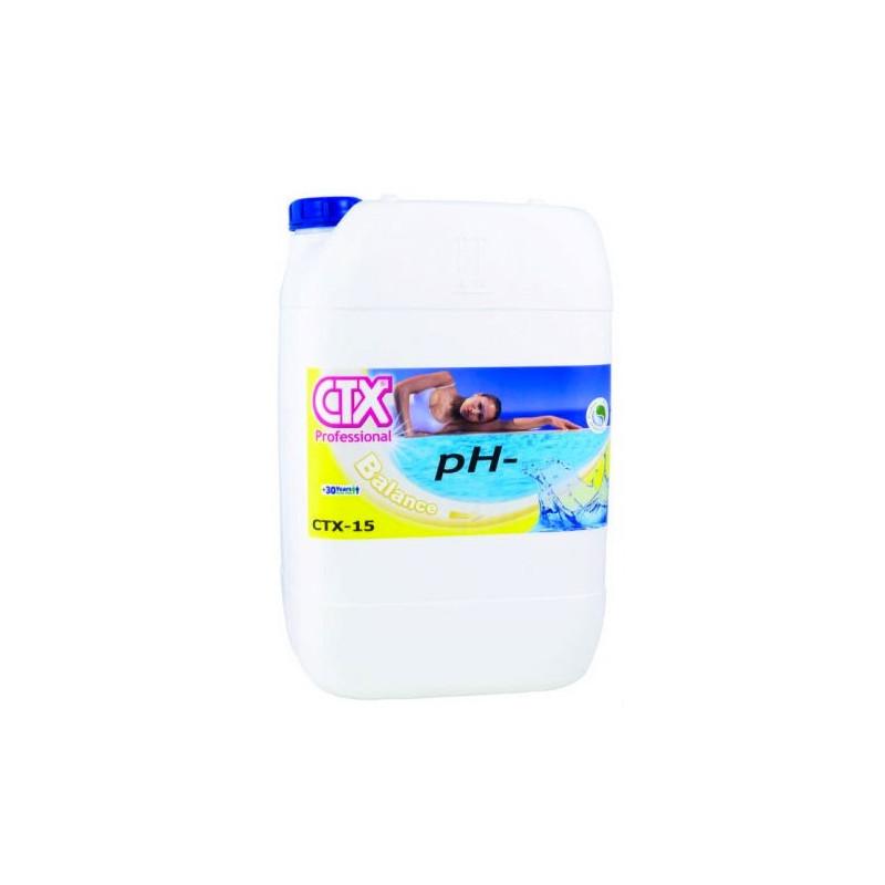 Riduttore pH - Piscina CTX-15 Liquido 20 Lt