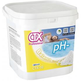 Riduttore pH- Minor Piscina Granulare CTX-10 da 8 Kg