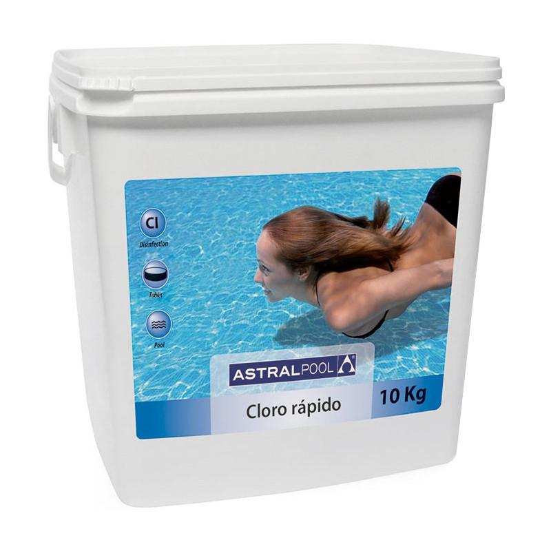 Cloro Piscina Granulare 55% Astralpool 10 Kg