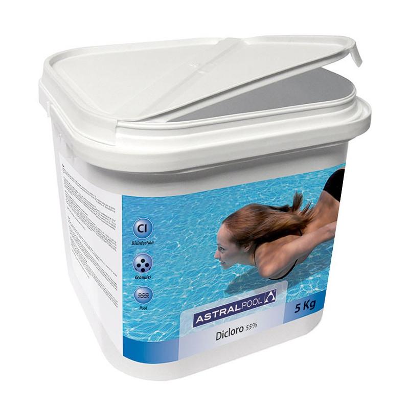 Cloro Piscina Granulare 55% Astralpool 5 Kg