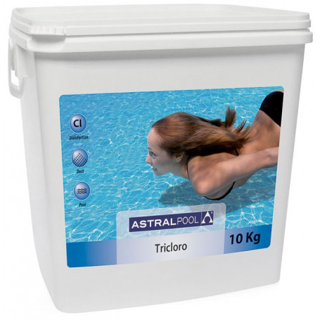 Tricloro Piscina Astralpool 90% Granulare 5 KG