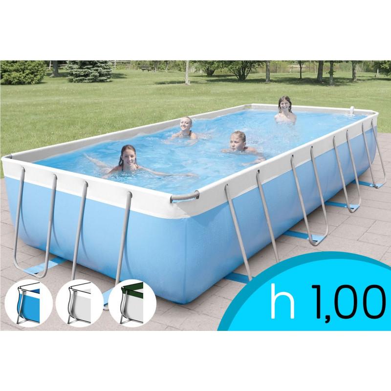 Piscina fuori terra new plast diva 400 pronto piscine