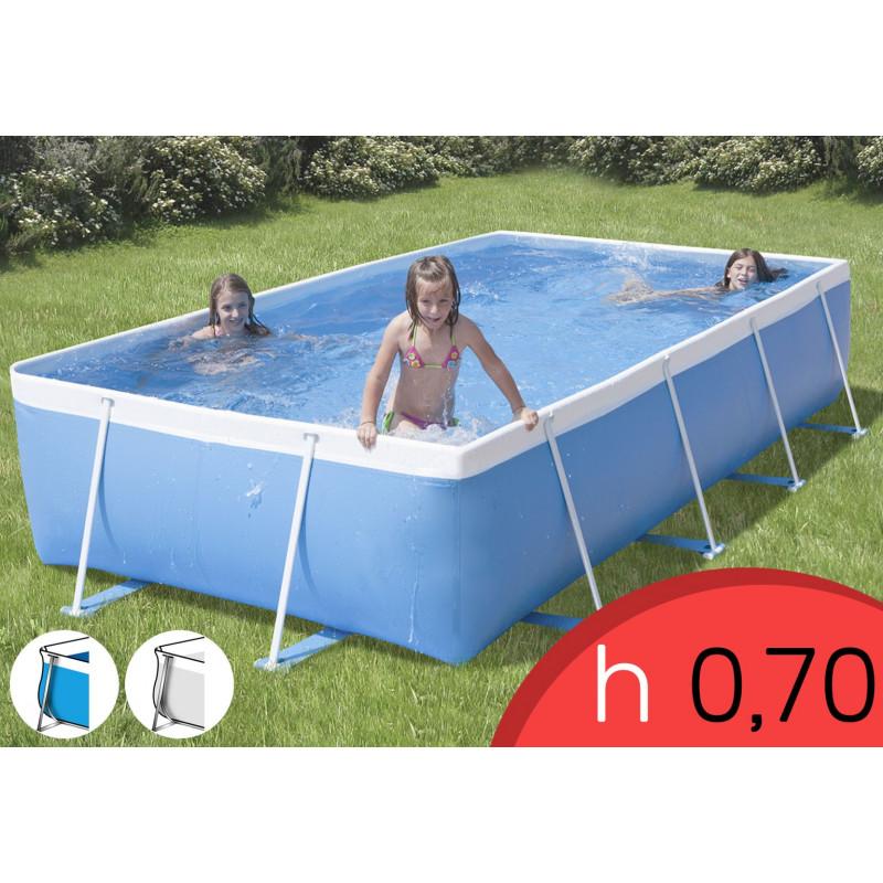 Piscina Fuori Terra Rio 300 TOP - 320 x 215 h 70 mt - Filtro Cartuccia