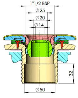 Bocchetta Filettata Liner