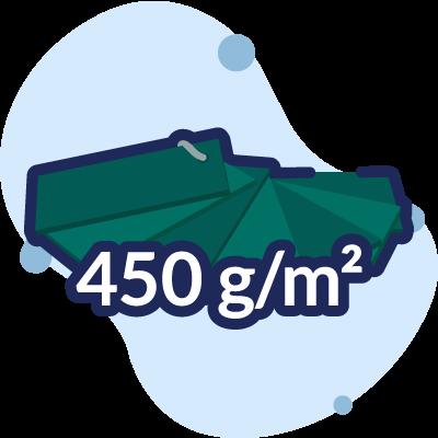 pvc 450 g/mq