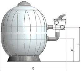 Filtro Aquarius Dimensioni