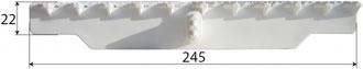 Griglia Curvabile 245 Dimensioni
