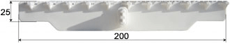 Griglia Curvabile 200 Dimensioni