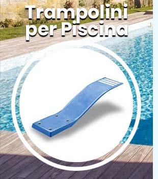 Trampolini per piscina