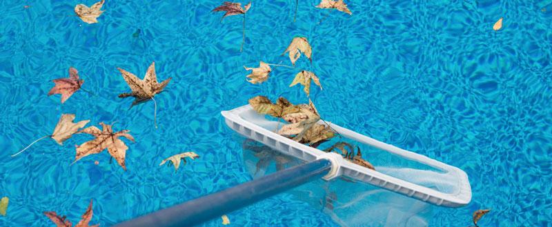 Puliza della piscina