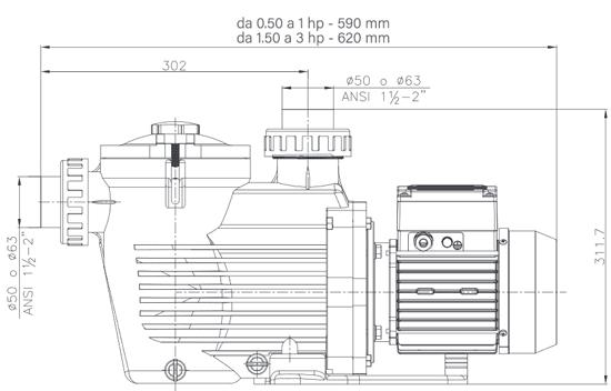 Pompa Piscina KS EVO - Kripsol