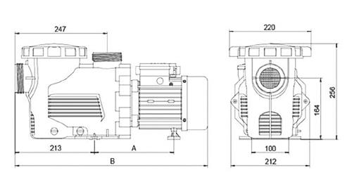 Dimensioni Pompa SMART XL