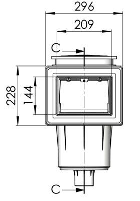 Skimmer Bocca Standard 17.5