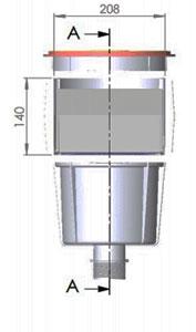 Skimmer Standard Dimensioni